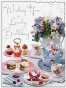 Afternoon Tea Birthday Card